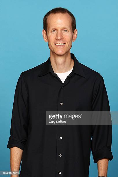 Assistant General Manager Jeff Weltman of the Milwaukee Bucks poses for a portrait during 2010 NBA Media Day on September 27 2010 at the Milwaukee...