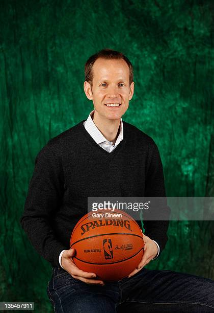 Assistant General Manager Jeff Weltman of the Milwaukee Bucks poses for a portrait during NBA Media Day on December 10 2011 at the Cousin's Center in...