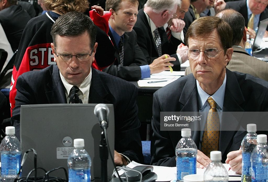 2007 NHL Entry Draft Rounds 2-7 : News Photo