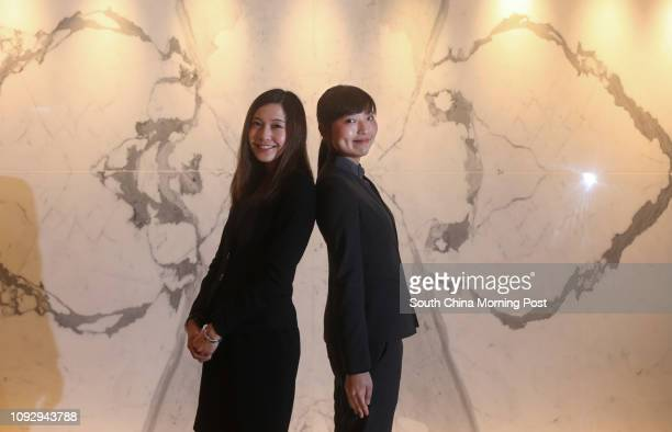 Assistant Human Resources Manager Jacqueline Cheng and Front Office Duty Manager Nicole Tang at the Cordis Hotel in Mong Kok 07JUN17 SCMP / David Wong