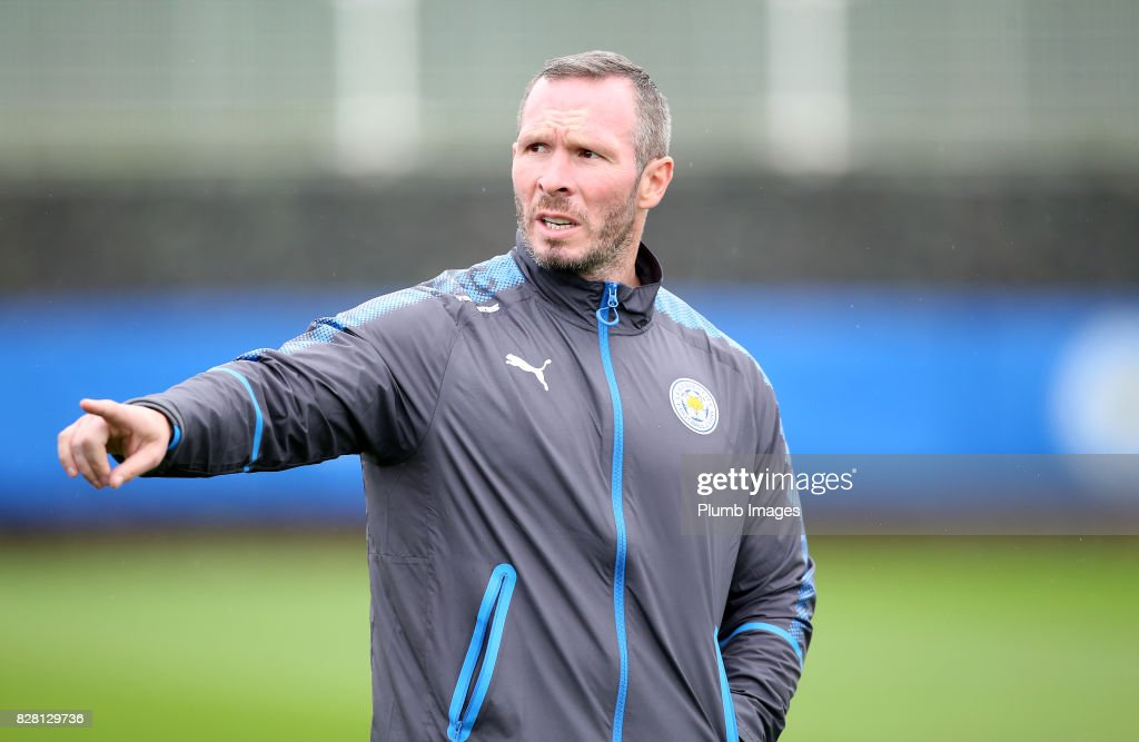 Assistant manager Michael Appleton during the Leicester City training session at Belvoir Drive Training Complex on August 09 , 2017 in Leicester, United Kingdom.
