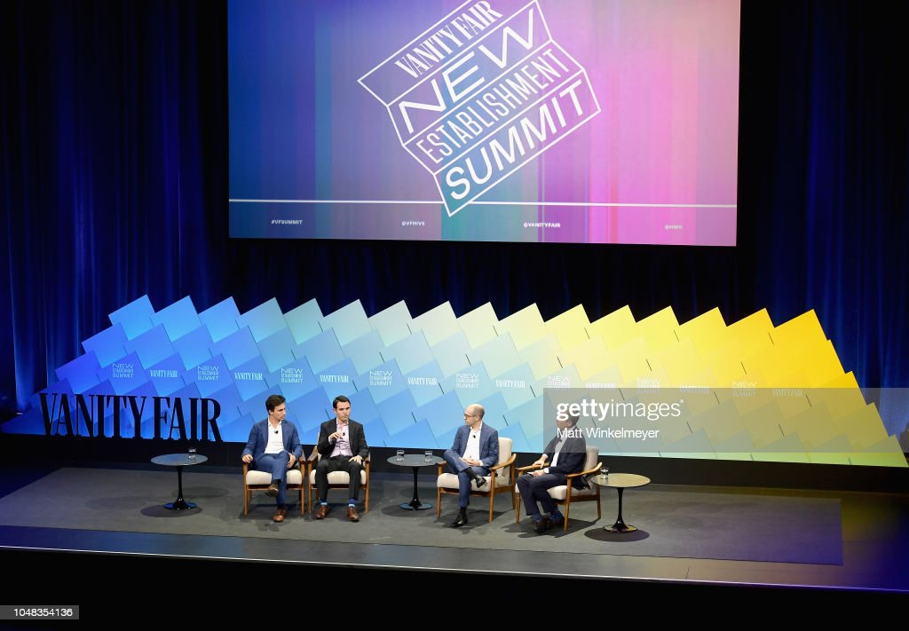 Vanity Fair New Establishment Summit 2018 - Day 1 : News Photo