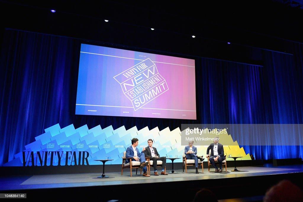 Vanity Fair New Establishment Summit 2018 - Day 1 : Nachrichtenfoto