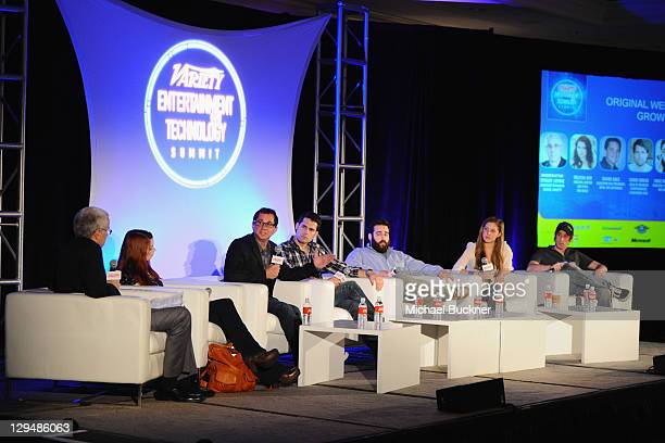 Assistant Managing Editor at Variety Stuart Levine Creator/writer/star of The Guild Felicia Day Executive Vice President MTVX MTV Networks David Gale...