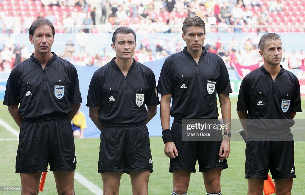 FIFA Confederations Cup 2005 Argentina v Tunisia : News Photo