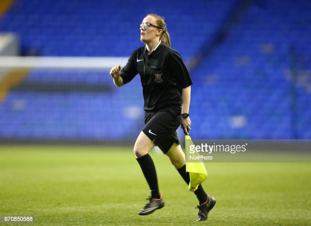 Assistant Referee Louise Healy during The FA Women's Premier League Southern Division match between Tottenham Hotspur Ladies and West Ham United...