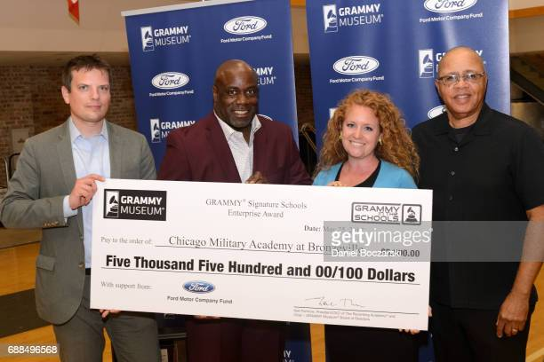 Assistant Regional Manager of Ford Motor Company Douglas Messana President of The Recording Academy Chicago Chapter Mark Hubbard Executive Education...