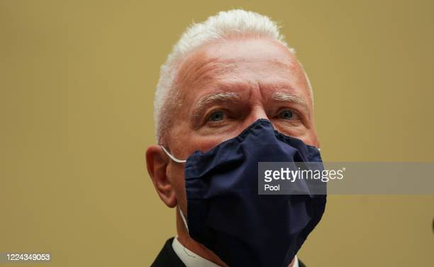S Assistant Secretary for Health and Human Services Admiral Brett P Giroir appears at a House Select Subcommittee on the Coronavirus Crisis hearing...
