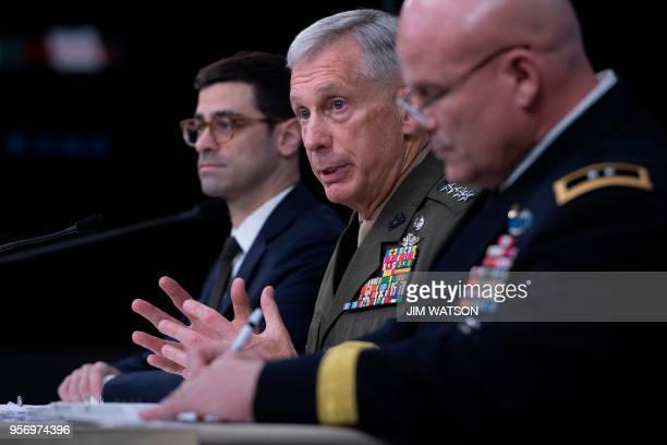 Assistant Secretary of Defense for International Security Affairs Robert Karem Commander of US Africa Command General Thomas Waidhauser and Chief of...