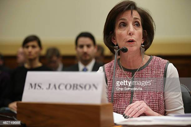 Assistant Secretary of State For Western Hemisphere Affairs Roberta Jacobson testifies before the House Foreign Affairs Committee about Cuba policy...
