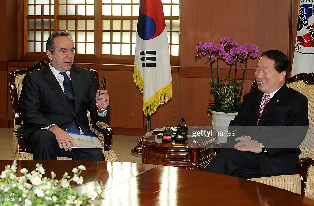 U.S. Assistant Secretary of State Kurt Campbell Visits South Korea