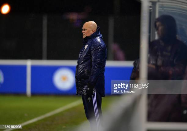 Assistant Senior Professional Development Phase Coach Ben Petty of Leicester City during the Leicester City U23 v Villarreal B PL International Cup...