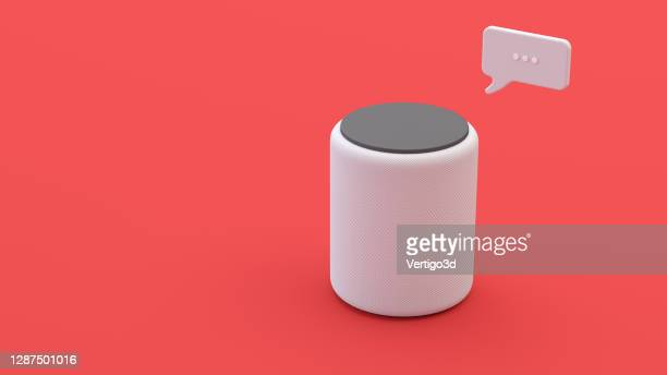 assistant smart speaker with artificial intelligence concept - member of congress stock pictures, royalty-free photos & images