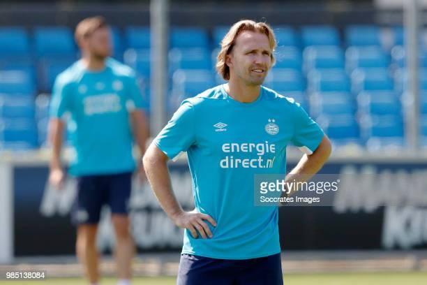 assistant trainer Boudewijn Zenden of PSV during the First Training PSV at the De Herdgang on June 27 2018 in Eindhoven Netherlands