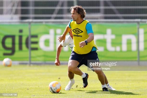 assistant trainer Boudewijn Zenden of PSV during the Training PSV in Verbiers on July 16 2018 in Verbier Switzerland