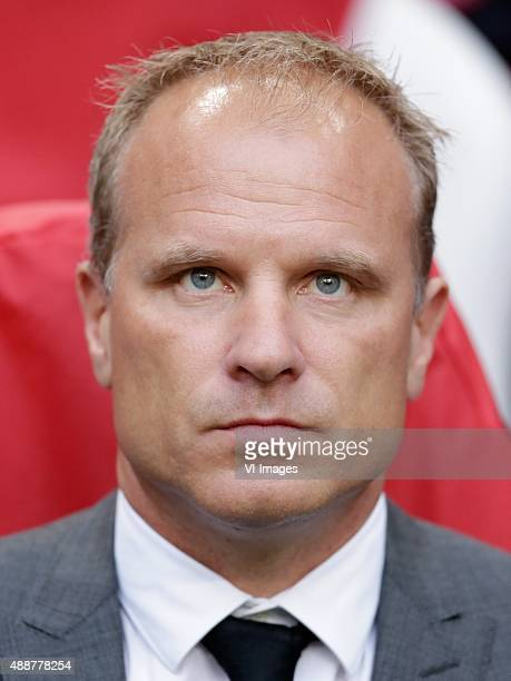 assistant trainer Dennis Bergkamp of Ajax during the UEFA Europa League group A match between Ajax and Celtic on September 17 2015 at the Amsterdam...