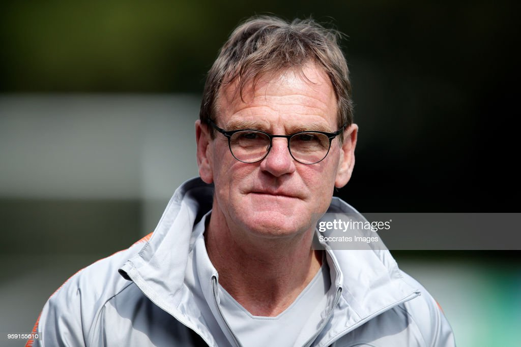 assistant trainer Dwight Lodeweges of Holland during the Training Holland at the KNVB Campus on May 16, 2018 in Zeist Netherlands