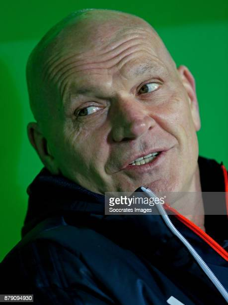 assistant trainer Jan Wouters of Feyenoord during the Dutch Eredivisie match between FC Groningen v Feyenoord at the NoordLease Stadium on November...