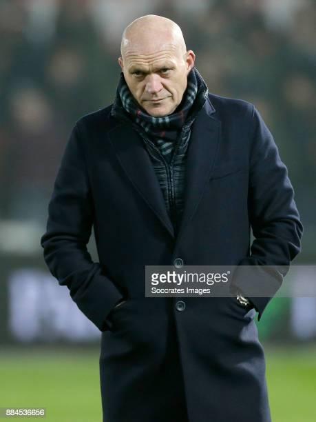 assistant trainer Jan Wouters of Feyenoord during the Dutch Eredivisie match between Feyenoord v Vitesse at the Stadium Feijenoord on December 2 2017...