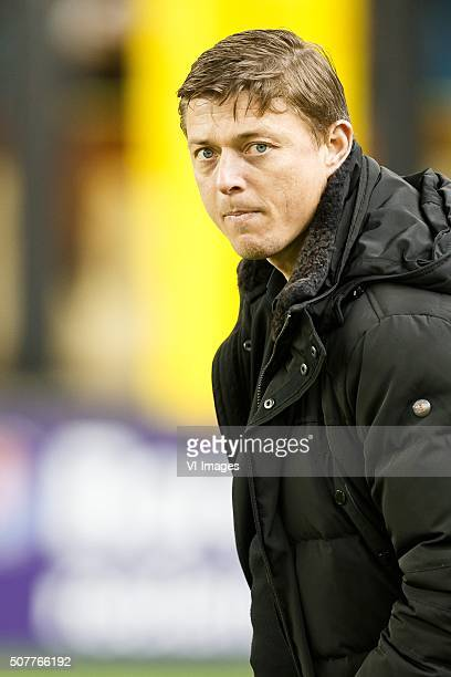 assistant trainer Jon Dahl Thomasson of Vitesse during the Dutch Eredivisie match between Vitesse Arnhem and Excelsior Rotterdam at Gelredome on...