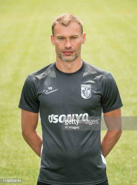 Assistant trainer Vasili Berezutskiy during the team presentation of Vitesse Arnhem on July 17, 2019 at the Papendal training complex in Arnhem, The...
