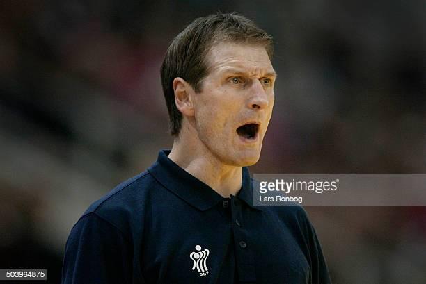 Assistantcoach Kim Jensen, Denmark.