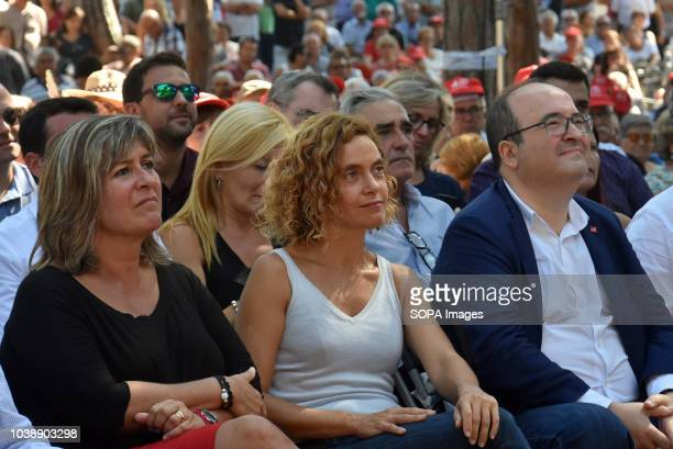 Assistants from to of the Deputy Secretary to First Secretariat Socialist Party of Catalonia and Mayor of L'Hospitalet City Nuria Marin The Minister...