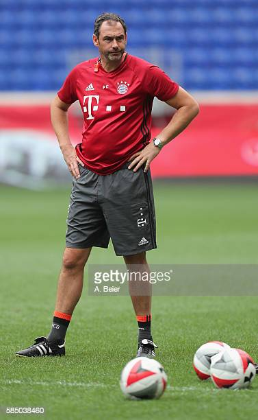 Assistent coach Paul Clement of FC Bayern Muenchen is pictured during a training session at the AUDI Summer Tour USA 2016 on August 1 2016 at Red...