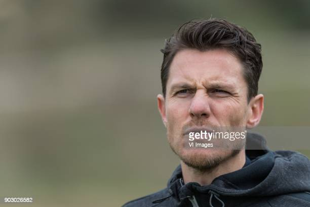 assistent of the board Mark Jan Fledderus of Heracles during a training session of Heracles Almelo at the Don Julia resort on January 09 2018 in...
