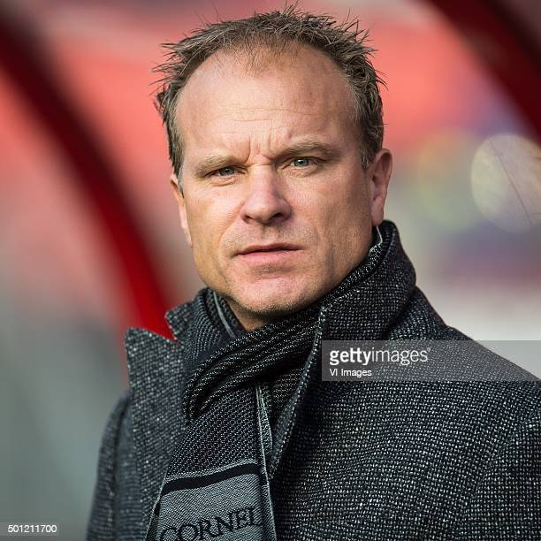 assistent trainer Dennis Bergkamp of Ajax during the Dutch Eredivisie match between FC Utrecht and Ajax Amsterdam at the Galgenwaard Stadium on...