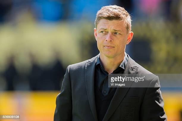 assistent trainer Jon Dahl Thomasson of Vitesse during the Dutch Eredivisie match between Vitesse Arnhem and FC Utrecht at Gelredome on May 01 2016...