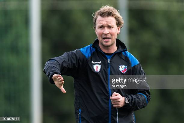 assistent trainer Rick Kruys of FC Utrecht during a training session of FC Utrecht at the La Manga Club Resort on January 06 2018 in La Manga Spain