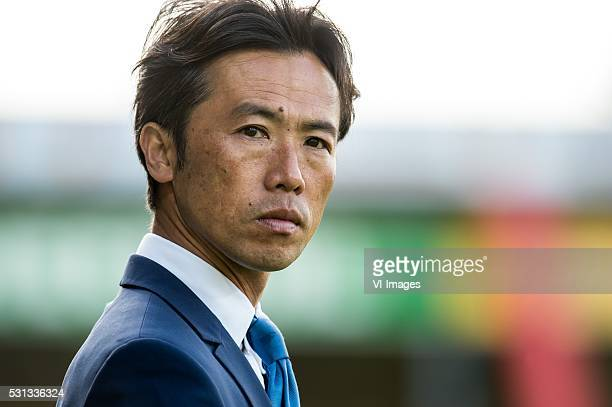 assistent trainer Toshiya Fujita of VVV Venlo during the Playoffs Promotion/Relegation match between Go Ahead Eagles and VVVVenlo at The...