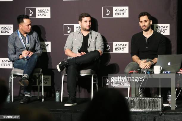 ASCAP Associate Director of Membership Pop/Rock Edward Reyes and producers/songwriters Alex Schwartz and Joe Khajadourian of The Futuristics speak...
