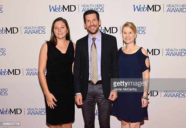 Associate Director of Research Communications Maggie McGuire VP of Research Programs Brian Fiske and Rachel Dolhun MD for Michael J Fox Foundation...