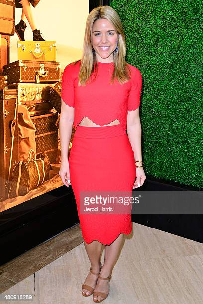 Associate Director of Special Events for Vogue Cara Crowley attends Louis Vuitton with Vogue and Michelle Janavs discover the Women's ReadyToWear...