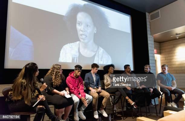Associate Director of the National Suicide Prevention Lifeline Shari Sinwelski actors Coy Stewart Nolan Gould Mickaelle Bizet Luis Guzman Director...