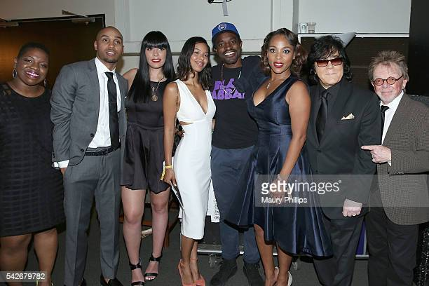 ASCAP Associate Director Rhythm Soul Creative Services Joncier Rienecker singer JJ ASCAP Rhythm Soul Director Jennifer Goicoechea guest rapper Andre...