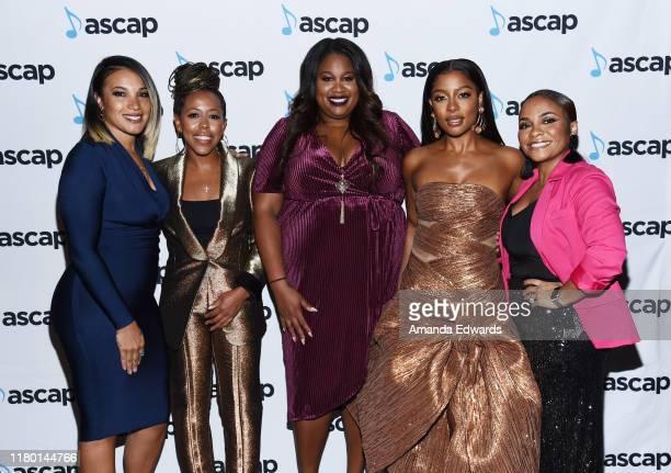 ASCAP Associate Director Rhythm Soul Cristina Chavez Roc Nation CoPresident Shari Bryant Vice President of Artist Relations Marketing Special...