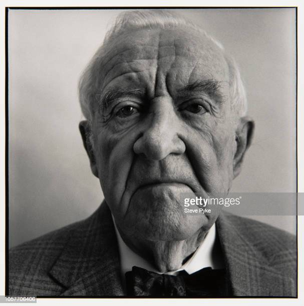 Associate Justice of the Supreme Court of the United States Justice John Paul Stevens is photographed for The New Yorker on February 1 2010 in New...