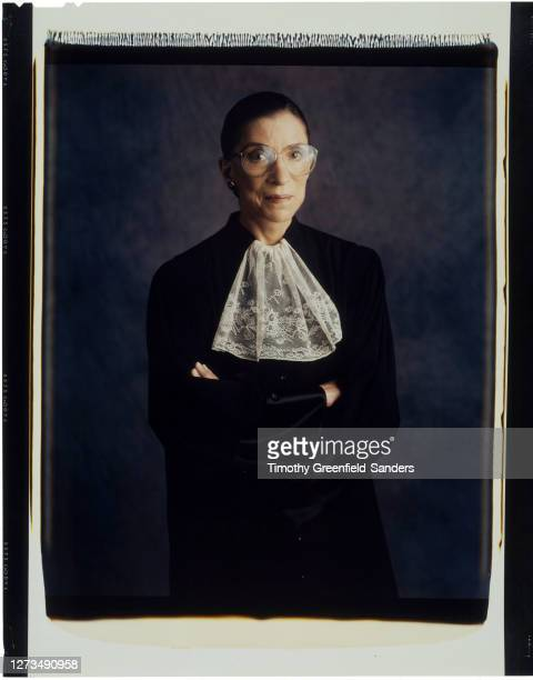 Associate Justice of the Supreme Court of the United States, Ruth Bader Ginsburg is photographed in 1997 in Washington, DC.