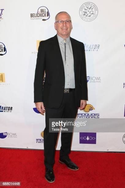 Associate producer Rex Lyons attends the premiere of XLrator Media's 'Spirit Game Pride of a Nation' at Writers Guild Theater on May 24 2017 in...