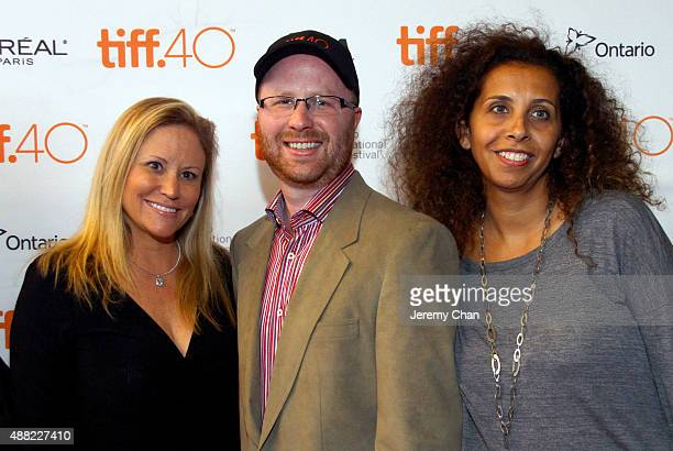Associate Producer Shelley Trotter associate producer Jason Speer and Guest attend 'The Family Fang' premiere during the 2015 Toronto International...