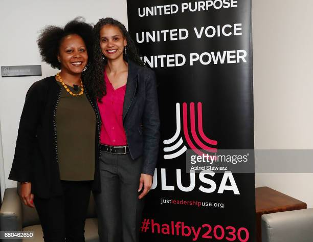 Associate professor of Political Science at Fordham University Christina Greer and Senior vice president for Social Justice at The New School Maya...