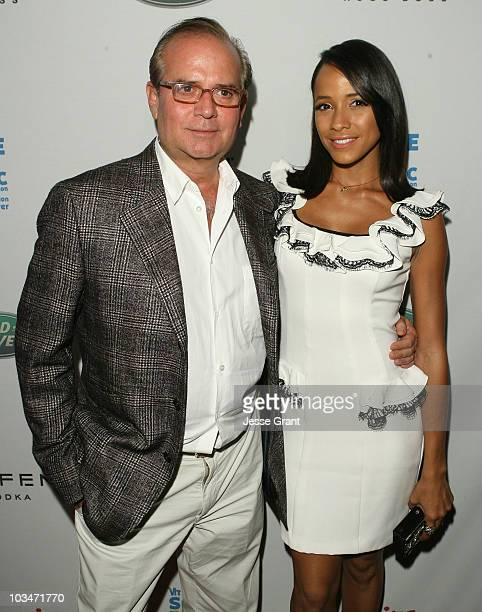 Associate Publisher of Esquire Stephen Jacoby and Actress Dania Ramirez arrive at VH1 Save The Music Foundation and Esquire Magazine Benefit held at...
