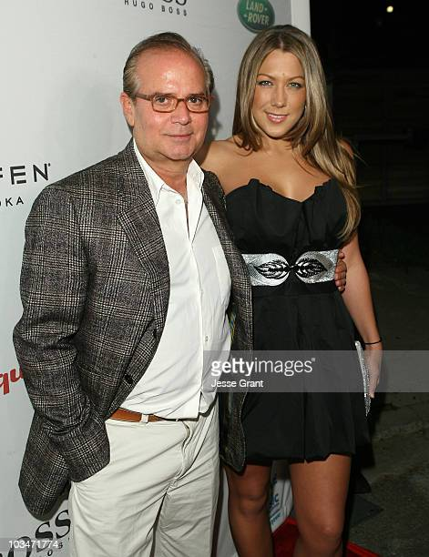 Associate Publisher of Esquire Stephen Jacoby and Singer Colbie Cailiat arrives at VH1 Save The Music Foundation and Esquire Magazine Benefit held at...