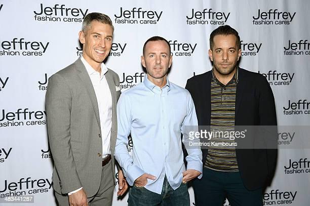 Associate Publisher of Harper's Bazaar Michael Krans Founder and President of Jeffrey NY/Atlanta Jeffrey Kalinsky and VP of Communications Prada...