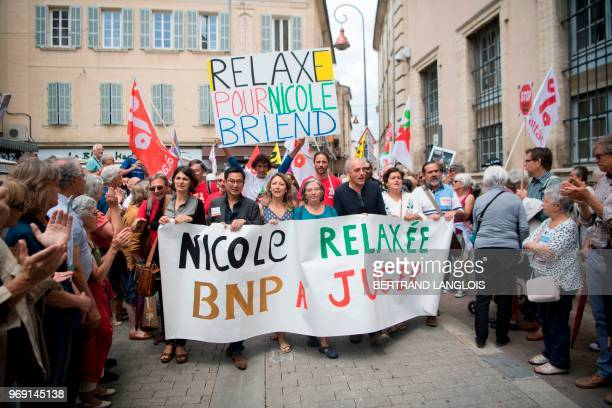 Association for the Taxation of Financial Transactions and for Citizens' Action activist Nicole Briend , Former French presidential election...
