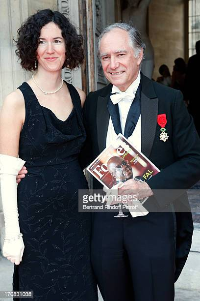 Assocition of Friends of Louvre Christopher Forbes and his daughter Miss Charlotte Escaravage attend 'Liaisons Au Louvre III' Charity Gala Dinner...