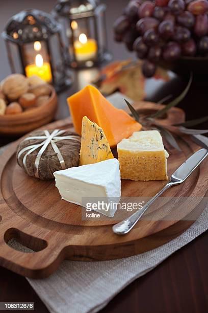 Un assortiment de fromages artisanaux